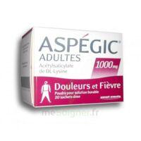 Aspegic Adultes 1000 Mg, Poudre Pour Solution Buvable En Sachet-dose 20 à MURET