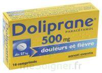 DOLIPRANE 500 mg Comprimés 2plq/8 (16) à MURET