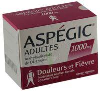 Aspegic Adultes 1000 Mg, Poudre Pour Solution Buvable En Sachet-dose 15 à MURET