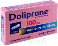 DOLIPRANE 100 mg Suppositoires sécables 2Plq/5 (10) à MURET