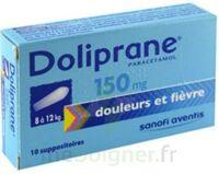 DOLIPRANE 150 mg Suppositoires 2Plq/5 (10) à MURET