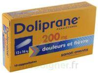 DOLIPRANE 200 mg Suppositoires 2Plq/5 (10) à MURET