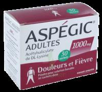 Aspegic Adultes 1000 Mg, Poudre Pour Solution Buvable En Sachet-dose 30 à MURET