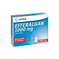 Efferalgan 1000 mg Comprimés pelliculés Plq/8 à MURET