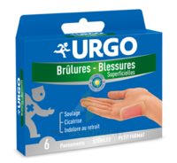 URGO BRULURES-BLESSURES PETIT FORMAT x 6 à MURET