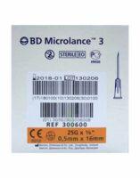 Bd Microlance 3, G25 5/8, 0,5 Mm X 16 Mm, Orange  à MURET