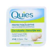 QUIES PROTECTION AUDITIVE CIRE NATURELLE 8 PAIRES à MURET