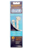 BROSSETTE DE RECHANGE ORAL-B ORTHO CARE ESSENTIALS x 3 à MURET