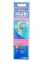 BROSSETTE DE RECHANGE ORAL-B SENSITIVE CLEAN x 3 à MURET