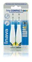 Inava Brossettes Tri Compact étroit  012 Noir 0,6mm/ Bleu 0,8mm/ Jaune 1mm à MURET