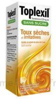TOPLEXIL 0,33 mg/ml sans sucre solution buvable 150ml à MURET