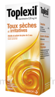 Toplexil 0,33 Mg/ml, Sirop 150ml à MURET