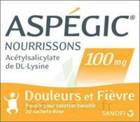 Aspegic Nourrissons 100 Mg, Poudre Pour Solution Buvable En Sachet-dose à MURET