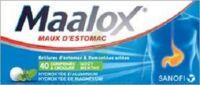 Maalox Hydroxyde D'aluminium/hydroxyde De Magnesium 400 Mg/400 Mg Cpr à Croquer Maux D'estomac Plq/40 à MURET