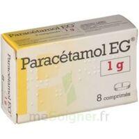 PARACETAMOL EG 1 g, comprimé à MURET