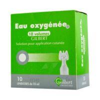 EAU OXYGENEE 10 VOLUMES GILBERT, solution pour application cutanée en récipient unidose à MURET