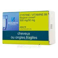 CYSTINE/VITAMINE B6 BIOGARAN CONSEIL 500 mg/50 mg Cpr pell Plq/120 à MURET