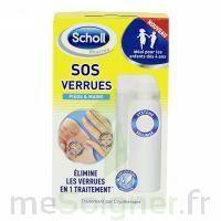 Scholl SOS Verrues traitement pieds et mains à MURET