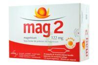 MAG 2 122 mg S buv en ampoule sans sucre édulcoré à la saccharine sodique 30Amp/10ml à MURET
