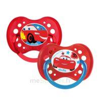 Dodie Disney sucettes silicone +18 mois cars Duo à MURET