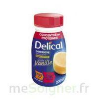 DELICAL BOISSON HP HC CONCENTREE Nutriment vanille 4Bouteilles/200ml à MURET