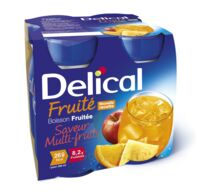 DELICAL BOISSON FRUITEE Nutriment multi fruits 4Bouteilles/200ml à MURET