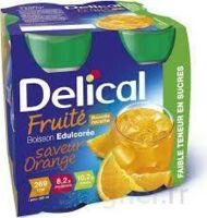 Delical Boisson Fruitee Nutriment édulcoré Orange 4bouteilles/200ml à MURET