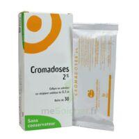 CROMADOSES 2 POUR CENT, collyre en solution en récipient unidose à MURET