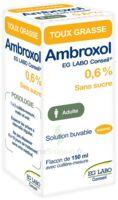AMBROXOL EG LABO CONSEIL 0,6 %, solution buvable à MURET