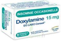 DOXYLAMINE EG LABO CONSEIL 15 mg, comprimé pelliculé sécable à MURET