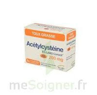 ACETYLCYSTEINE EG 200 mg, poudre pour solution buvable en sachet-dose à MURET