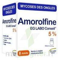 Amorolfine Eg Labo Conseil 5 %, Vernis à Ongles Médicamenteux à MURET