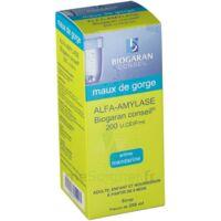 ALFA-AMYLASE BIOGARAN CONSEIL 200 U.CEIP/ml, sirop à MURET