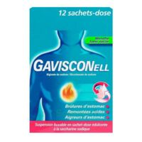 GAVISCONELL Suspension buvable sachet-dose menthe sans sucre 12Sach/10ml à MURET