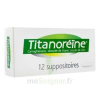 Titanoreine Suppositoires B/12 à MURET
