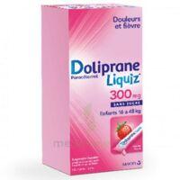 Dolipraneliquiz 300 mg Suspension buvable en sachet sans sucre édulcorée au maltitol liquide et au sorbitol B/12 à MURET