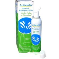 ACTISOUFRE Solution pour pulvérisation buccale/nasale en flacon pressurisé Fl press/100ml à MURET