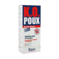 Item K.O. Poux Gel crème anti-poux 100ml+peigne fin à MURET
