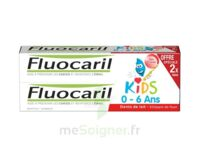 Fluocaril Kids Gel Dentifrice Fraise 0/6ans 2*50ml à MURET