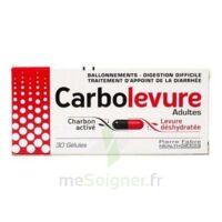 CARBOLEVURE Gélules adulte Plq/30 à MURET