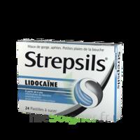 Strepsils lidocaïne Pastilles Plq/24 à MURET