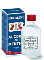 Ricqles 80° Alcool de menthe 100ml à MURET