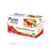 Picot Maman Tisane d'allaitement Fruits rouges 20 Sachets à MURET