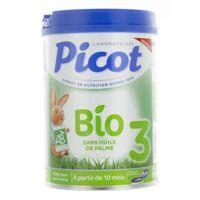 Picot Bio 3 Lait En Poudre 800g à MURET