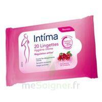 Intima Gyn'Expert Lingettes Cranberry Paquet/20 à MURET