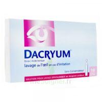 DACRYUM S p lav opht en récipient unidose 10Unid/5ml à MURET