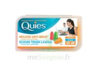 Quies Protection Auditive Mousse Fluo B/6