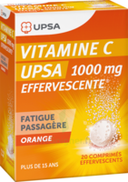 Vitamine C Upsa Effervescente 1000 Mg, Comprimé Effervescent à MURET