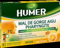 Humer Pharyngite Pastille Mal De Gorge Miel Citron B/20 à MURET